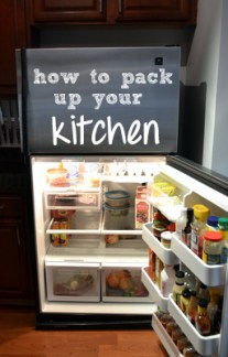 How to pack up your kitchen.