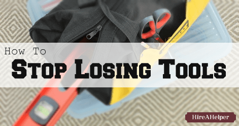 Tool Organization - How To Stop Losing Tools