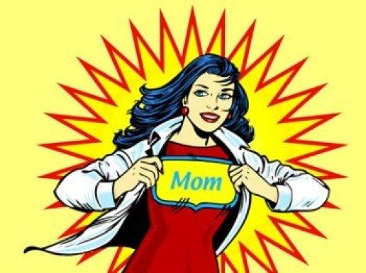 Mom-Superhero