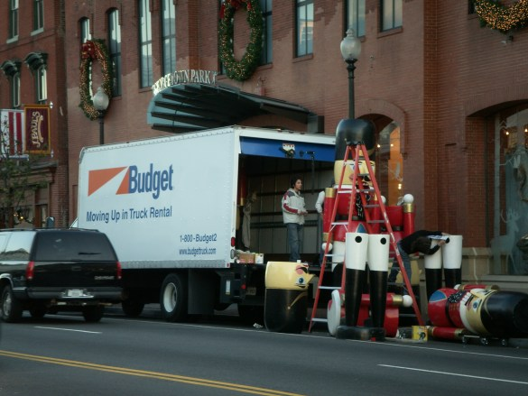 Rent a Budget Moving Truck