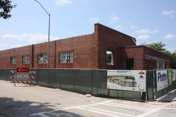Beacon demolition, August 24, 2013.