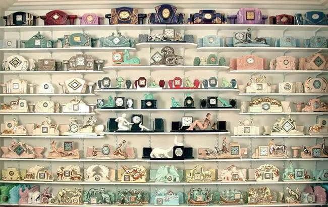 Clockarium art deco clock collection