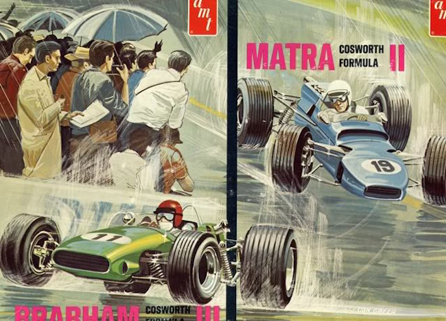 Heller Matra Brabham Cosworth Formula 2 car kits