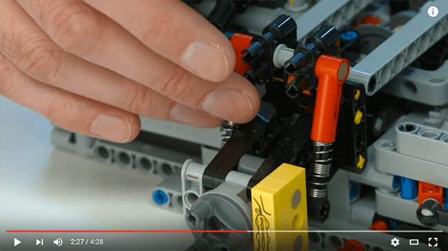 Lego Porsche 911 GT3 RS video