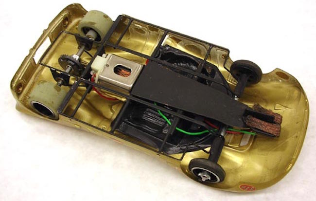 vintage mirage slot car 1960s philip de lespinay