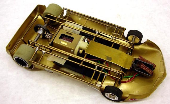 vintage hand made lancer slot car motors