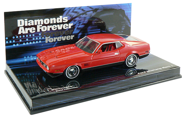 James Bond Minichamps Mustang