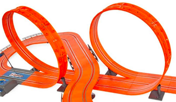 hot wheels tyco slot car loop