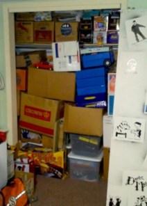 closet full of diecast