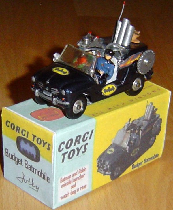 corgi budget batmobile