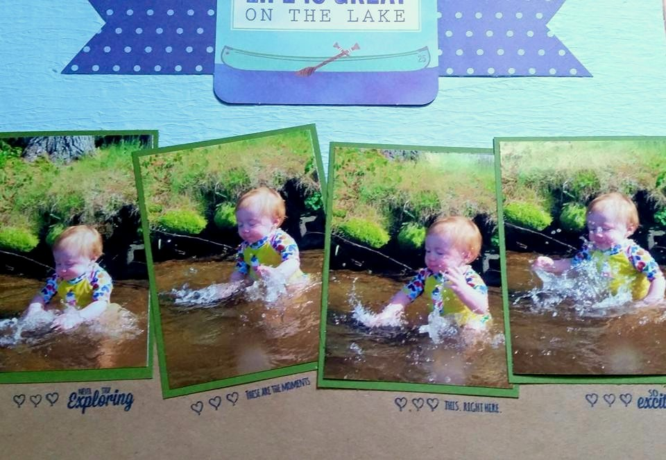 Saturday Stamping with Tabitha: At the Lake Layout