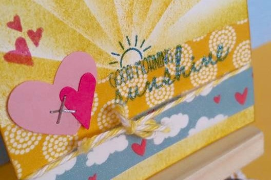 Saturday Stamping with Tabitha: Masking Sun Rays