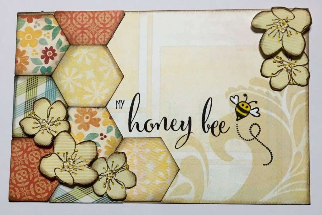 My Honey Bee pocket page