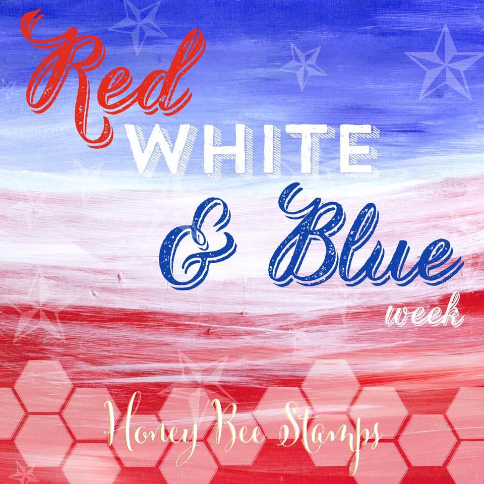 Red, White & Blue Week Challenge