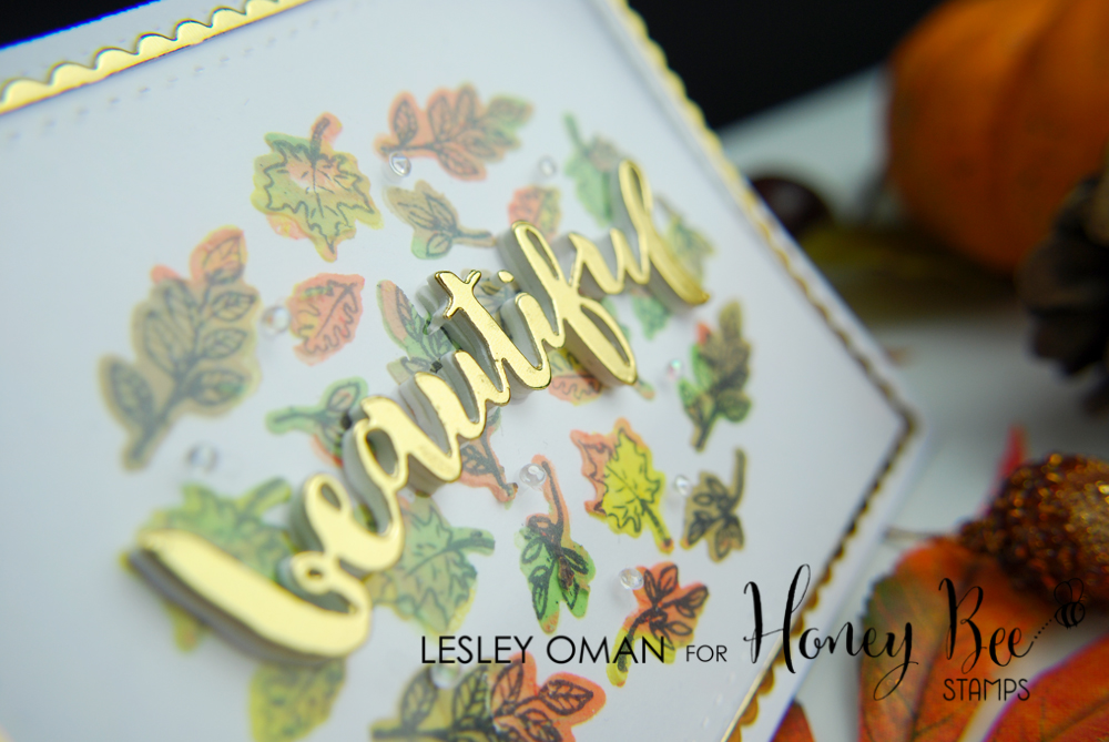 Coloured Embossing Paste & Die Cut Stencils – With an Autumnal Feel!