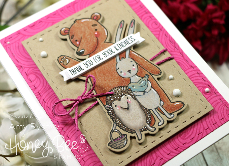 Forest Friends Thank You Card with Amy Rysavy