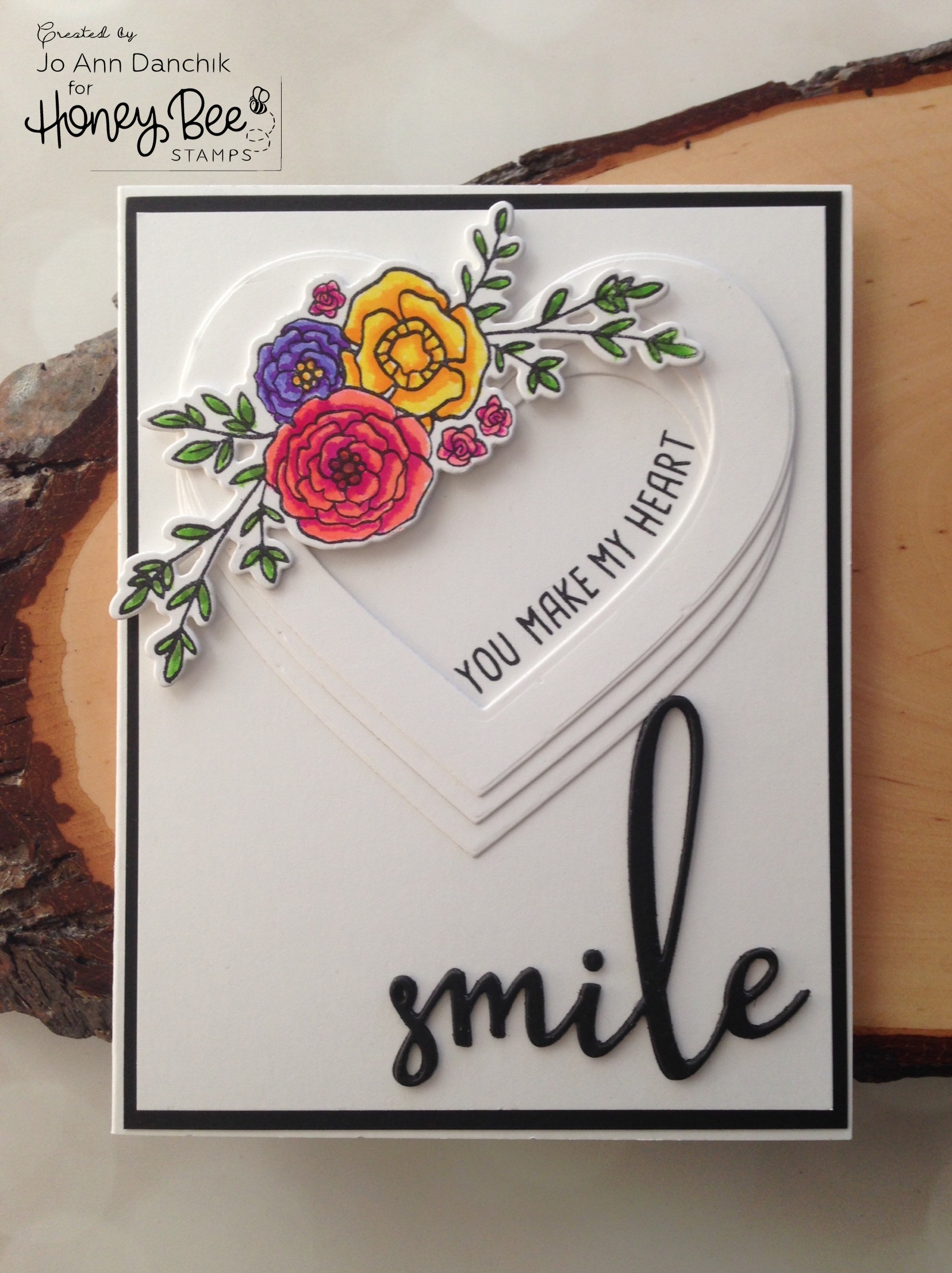 Creative Sundays with Jo Ann: You Make My Heart Smile
