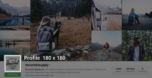 Social media templates - Suggested Instagram image dimensions
