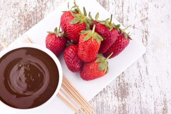Strawberry-ganache