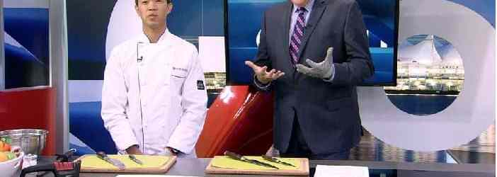 House of Knives Visits Global BC News With Healthy Snack Prep Tips