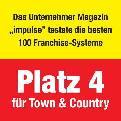 franchise im handwerk bau town country haus erneut bestes system. Black Bedroom Furniture Sets. Home Design Ideas