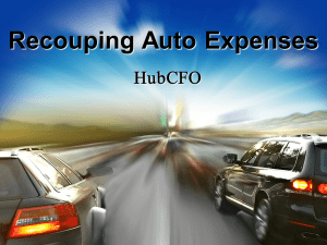 Deductions Using a Car for Business
