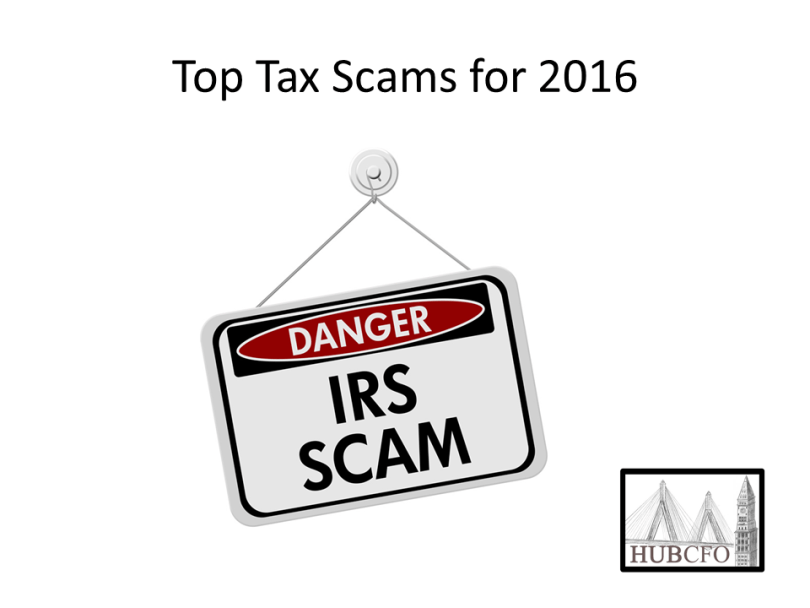 Tax Scams for 2016