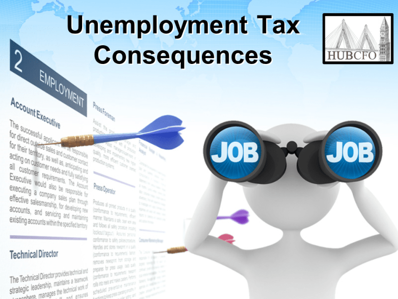 Unemployment Tax Consequences