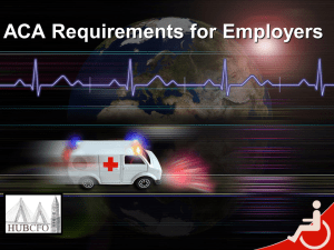 ACA Requirements for Employers