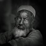 Street portrait, Old Delhi, India