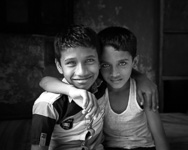 Two Boys, Mumbai, India, 2013