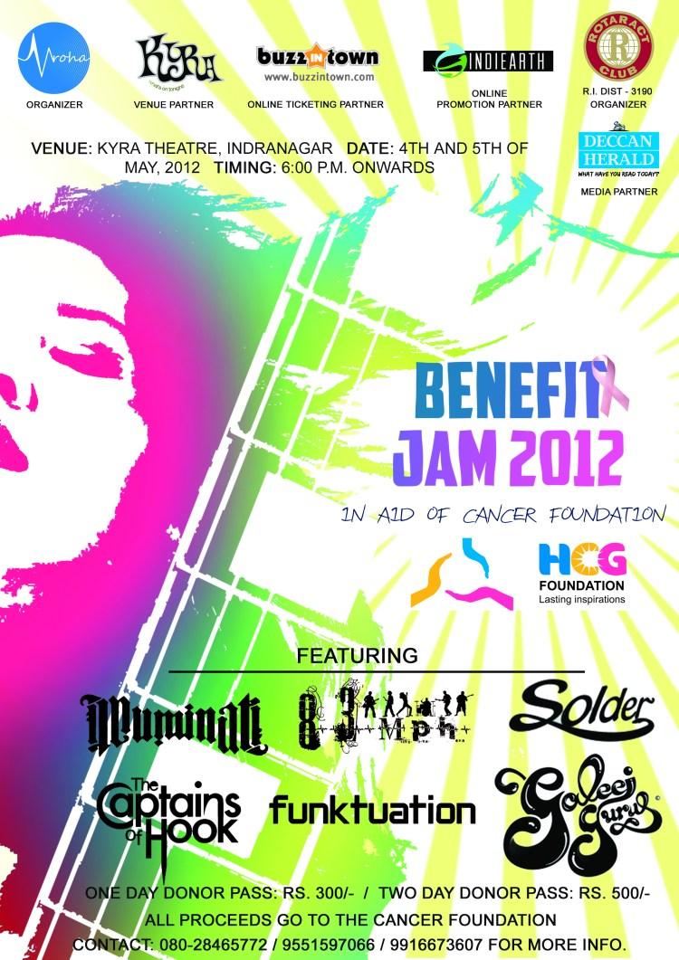 Benefit Jam 2012