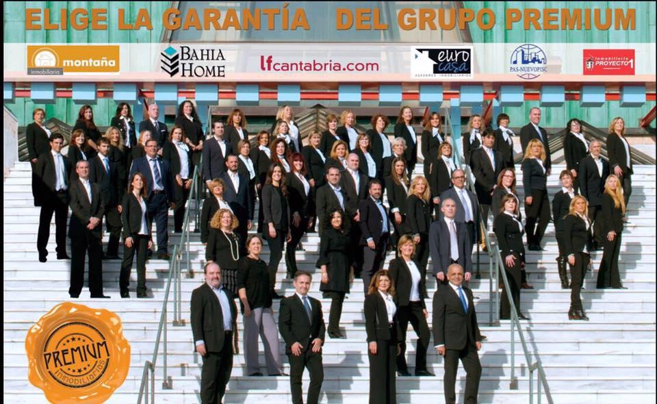 La garant a del grupo premium inmobiliarias premium for Inmobiliaria del banco santander