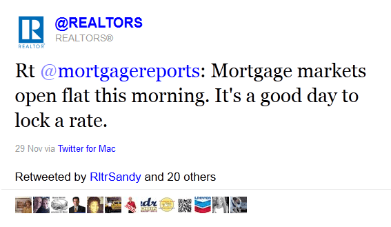 get retweets -  REALTORS, real estate