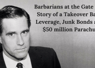 Barbarians at the Gate – The Story of a Takeover Battle, Leverage, Junk Bonds and Life of a CEO.