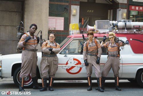 The New Ghostbusters (short film and movie news)