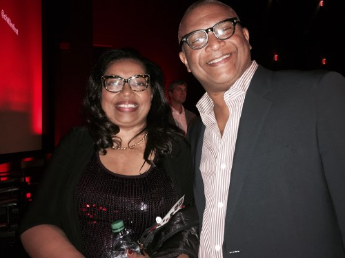 Christine Boulware and Reggie Hudlin