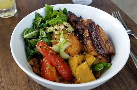 ediBOL's delicious pork belly bowl. Photo by Carol Cheh.