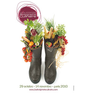 Affiche du Festival International de la Photographie Culinaire Edition 2010