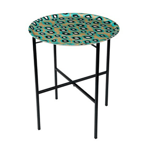 Table Coco Ikat Turquoise