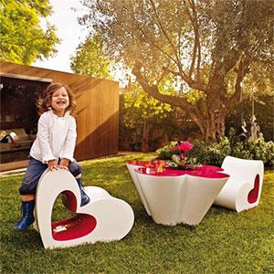 Salon de Jardin Design pour Enfant by Agatha Ruiz de La Prada pour ...
