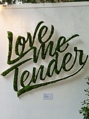 Love Me Tender Vegetal Identity