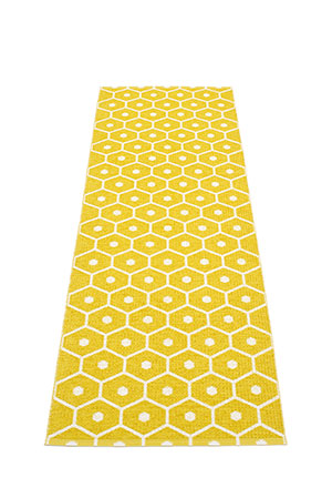 Tapis Honey Jaune Moutarde/Vanille