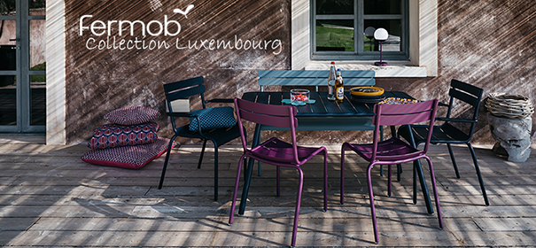 Boutique Fermob - Collection Luxembourg - Jardinchic