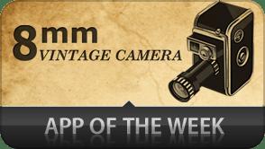 8mm, la camera vintage pour iPhone