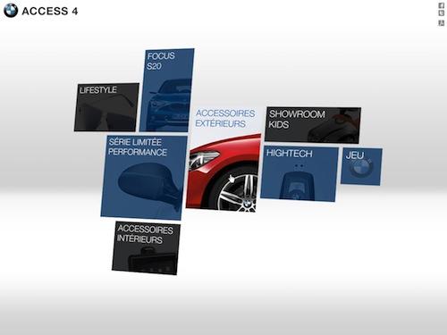 BMW un site spécial pour les accessoires