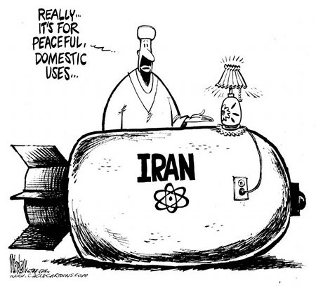 The Islamist Vermin In Iran Keep Claiming Their Nuclear Program Is Peacefule
