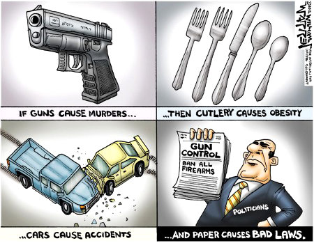 If Guns Cause Murders...