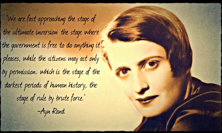 Ayn Rand - Inversion