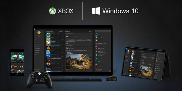 Cross-device multiplayer gaming, Game DVR & more. The @Xbox experience is coming to #Windows10.
